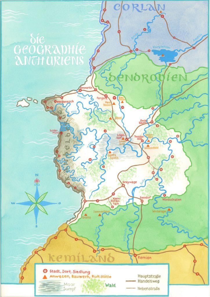 Karte von Anthurien