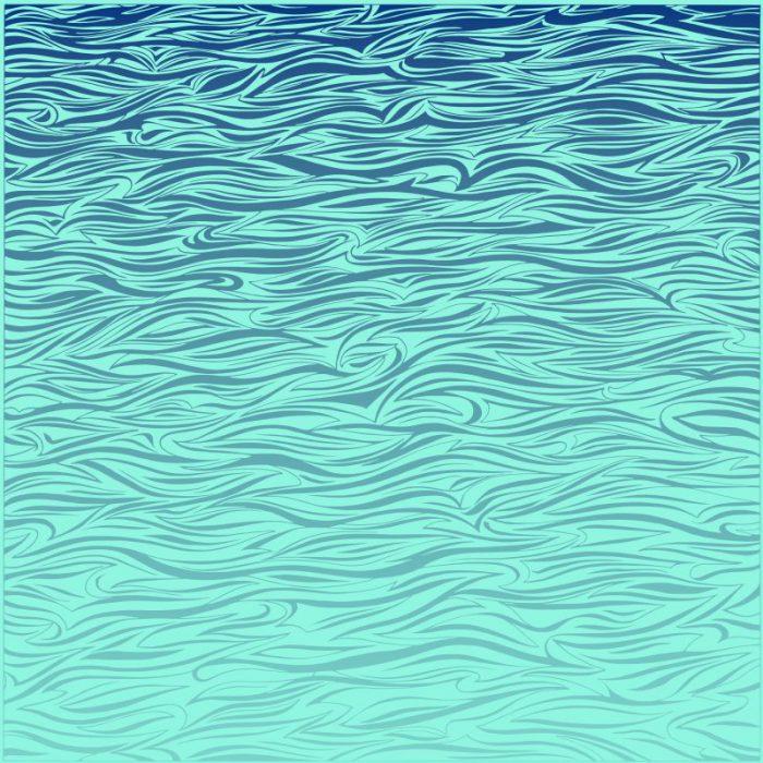 Wallpaper abstrakte Darstellung von Wasser