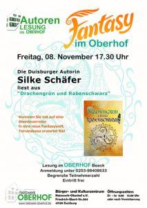 Lesung Oberhof Drachengrün und Rabenschwarz