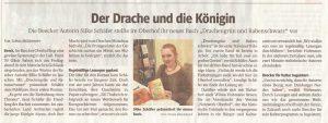 WAZ-Artikel Lesung im Oberhof