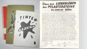Schülerzeitung Tintenklecks, Ausgabe Eins 1973